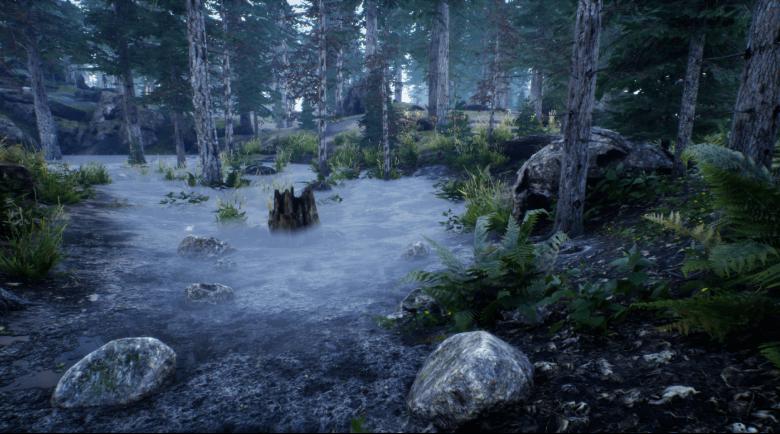 Fake Fog Volume [Unreal Engine 4]